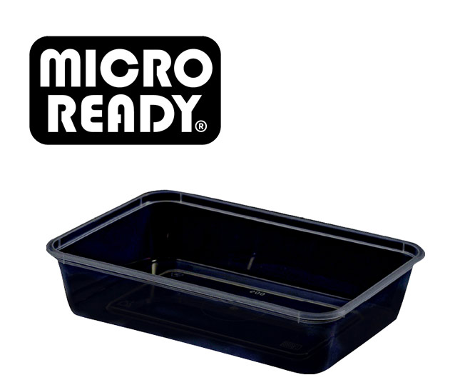 micro ready containers black