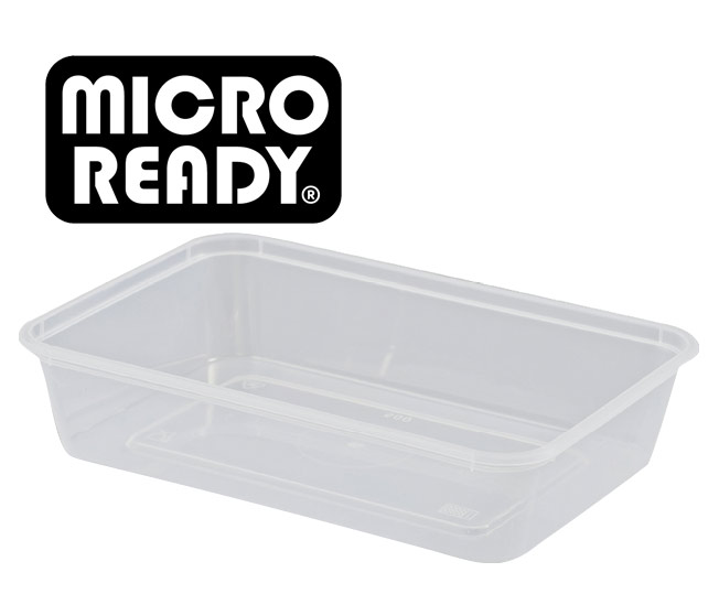 microready rectangular takeaway containers
